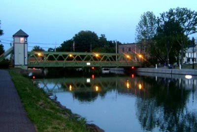 Twilight on the Erie Canal